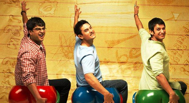 """Poster of the movie """"3 Idiots""""."""