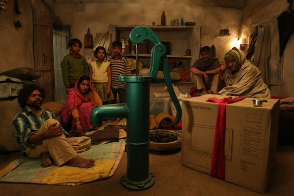 Peepli Live is year 2010 black comedy movie. Through the story of Nattha, the movie cracks a great satire on Indian media.