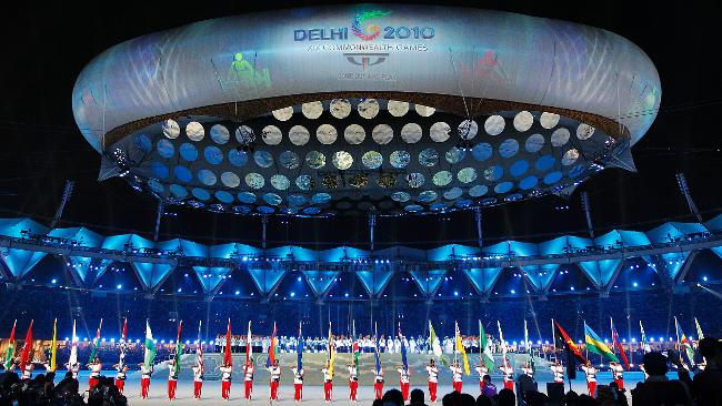 Opening Ceremony of the Delhi Commonwealth Games 2010.