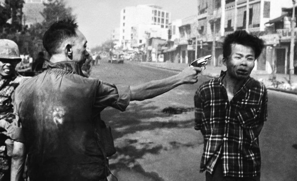 Execution of Nguyen Van Lem. Photograph by Eddie Adams.
