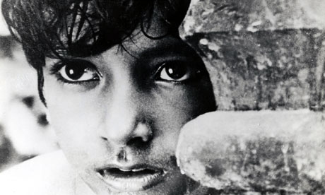 Apu (or Opu) in Pather Panchali. Song of the Road.