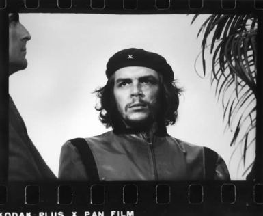 "Original uncropped ""Guerrillero Heroico""; the photograph of Che Guevara. Photograph by Alberto Korda."