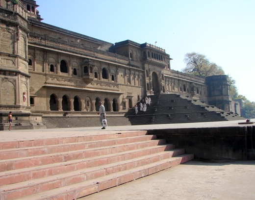 Maheshwar Fort. Photograph by Lalit Kumar.