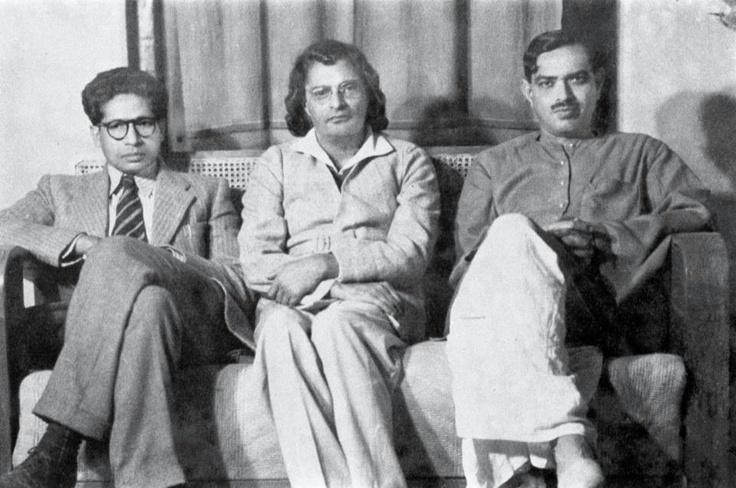 Harivanshrai Bachchan, Sumitranandan Pant and Ramdhari Singh Dinkar
