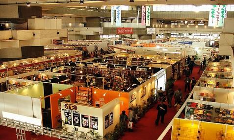New delhi world book fair vishwa pustak mela birds eye view of stalls in new delhi world book fair gumiabroncs Image collections