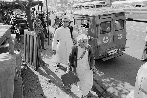 Mother Teresa made Kolkata her home.