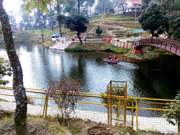 Bhulla Tal is a small but beautiful lake in Lansdowne.