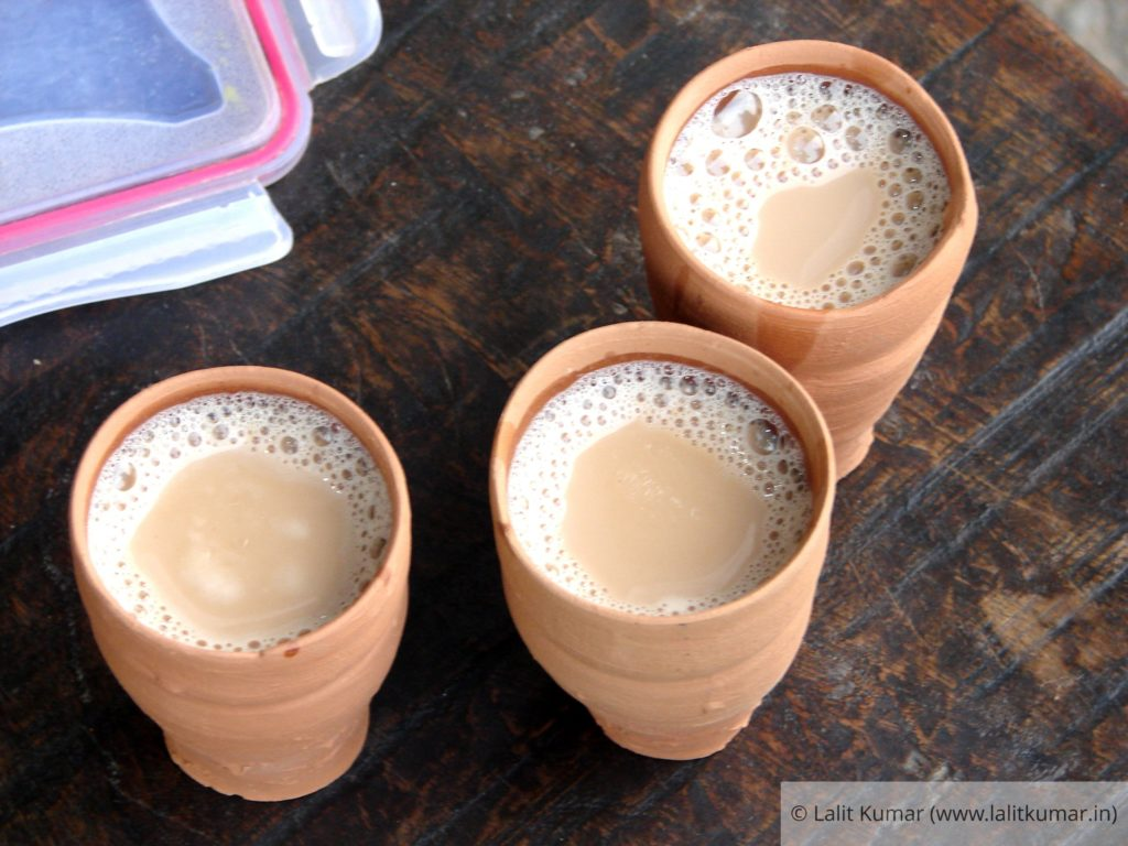 Chai at a roadside tea-stall